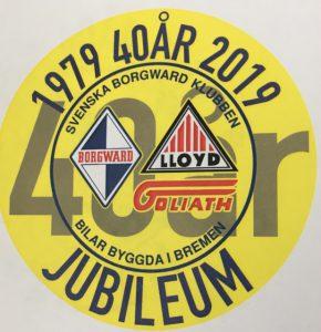 Borgward 40 år